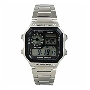 Casio Youth Black Dial Men's Watch - AE-1200WHD-1AVDF (D099)