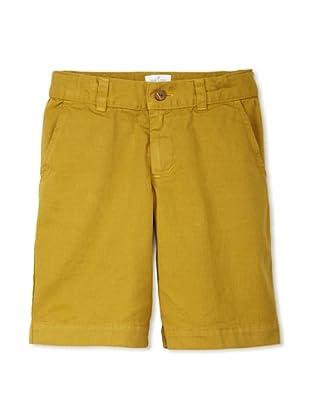 Neige Boy's Palmerston Twill Short (Sulphur)