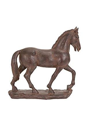 Deco 79 Polystone Horse Sculpture