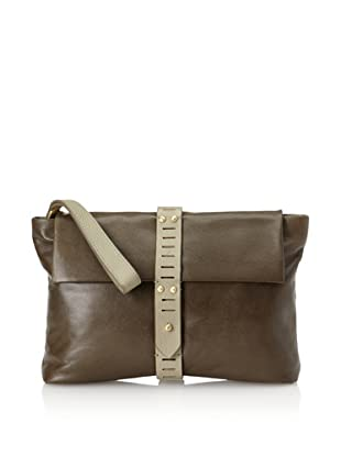 Allibelle Women's Mohawk Clutch (Olive)
