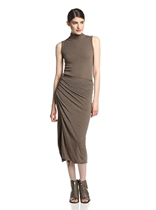 Rick Owens Lilies Women's Draped Skirt (Dna Dust)