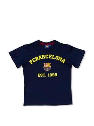 Licencias Camiseta Algodón F.C. Barcelona (Marino)