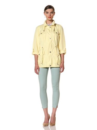 Hawke & Co Women's Short Anorak (Lemon)