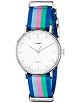 Timex Weekender Fairfield Analog White Dial Women's Watch - TW2P91700AA