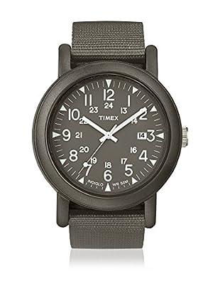 TIMEX Reloj de cuarzo Unisex Unisex Camper Metal Oscuro 40 mm