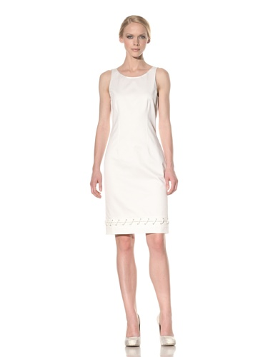 Rachel Roy Women's Nautical Dress (Natural White)