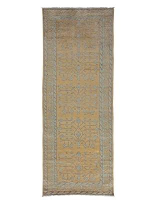 Darya Rugs Khotan Oriental Rug, Yellow, 3' 6