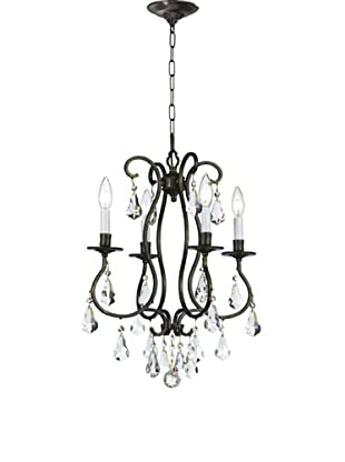 Gold Coast Lighting Leslie Chandelier, English Bronze