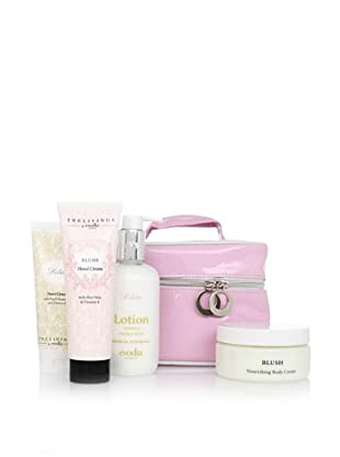 evodia Lolita and Blush 4-Piece Beauty Set with Tote