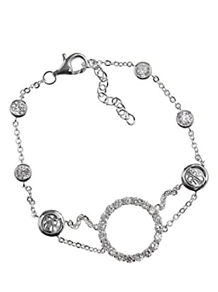 Cerruti 81 - R52074Z - Pulsera de mujer de plata de ley con circonitas