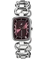 Fastrack Analog Red Dial Women's Watch - 6120SM03