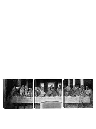 iCanvasArt Leonardo Da Vinci: The Last Supper II Panoramic Giclée Triptych