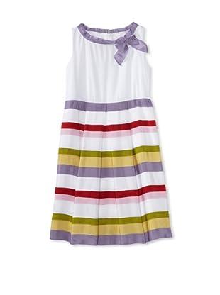 Monnalisa Girl's Stripe Dress (Multi)