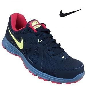 Nike Men's Sports Shoe 554954-022 Black Yellow Gym Rd