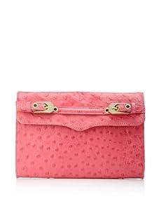 Rebecca Minkoff Women's Sophie Buckle Flap Shoulder Bag (Pink)