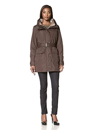 Hawke & Co Women's All-Weather 3-in-1 Jacket (Cocoa)