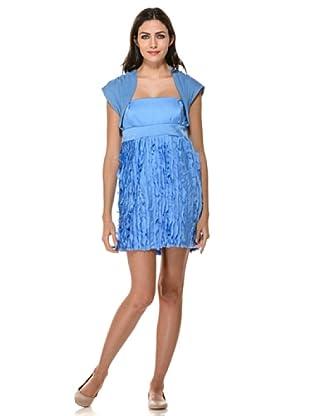 Annarita N Vestido Barrè (Azul)