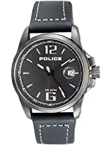 Police Analog Watch For Men Black PL12591JVSBU/61
