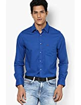 Blue Full Sleeve Casual Shirt