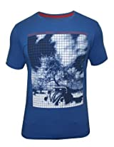 Spykar Blue Casual T-Shirt