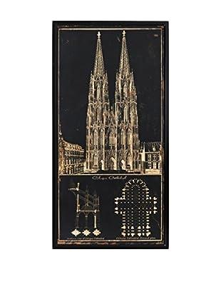 Especial Deco Vertical Wandbild Cathedral