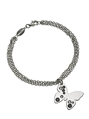 Nomination Pulsera Butterfly Blanco/Negro