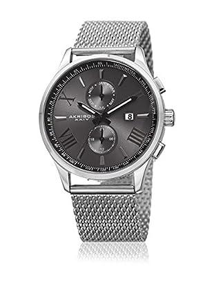Akribos XXIV Reloj de cuarzo Man AK905SSB 43 mm