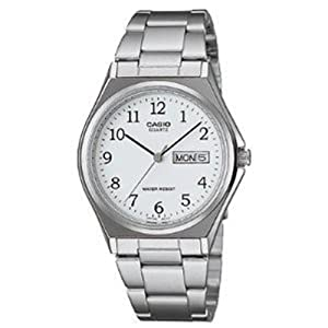 Casio Enticer Analog White Dial Men's Watch - MTP-1240D-7BDF (A208)