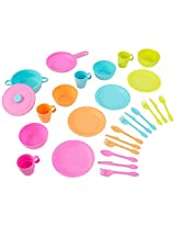 27 Piece Bright Colorful Cookware Set