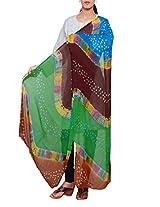 Unnati Silks Women Corporate multicolor Chiffon chunni