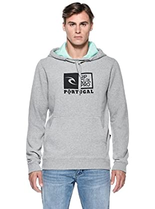 Rip Curl Felpa Rc Pro Comp Pop Over Fleece (Grigio cemento)
