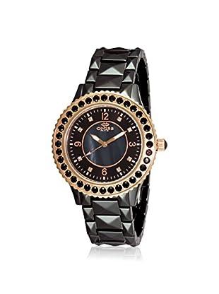 Oniss Women's ON8175-LRG/BK Bellissima Black Ceramic Watch