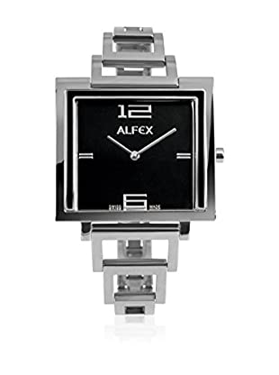 Alfex Quarzuhr 5699_855 36 x 36 mm versilbert
