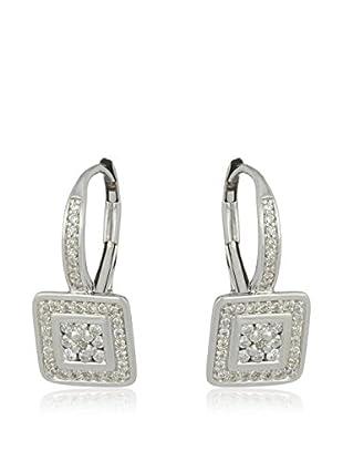 Bentelli Pendientes 9K Gold 0.30Ct Diamonds Oro Blanco