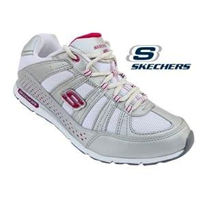 Skechers Women's Sport Shoe 12246-White Pink