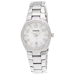 Fossil Dress Analog Silver Dial Women's Watch - AM4141