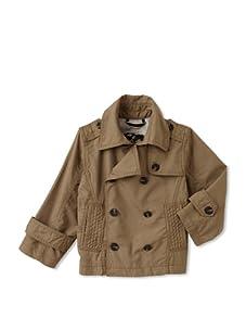 Kapital K Boy's Double-Breasted Jacket (Driftwood)