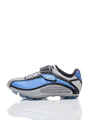 Nalini Zapatillas para Ciclismo Azulemontain (Azulón / Plata)