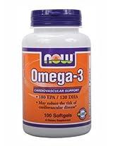 Now Omega- 3 - 100 Softgels