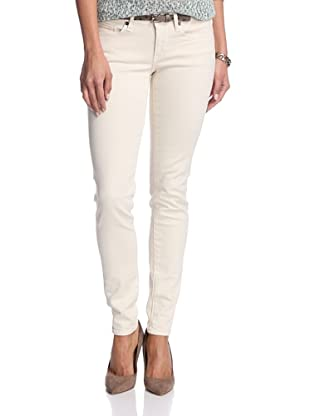Levi's Women's Pins Skinny Jean (White Wash)