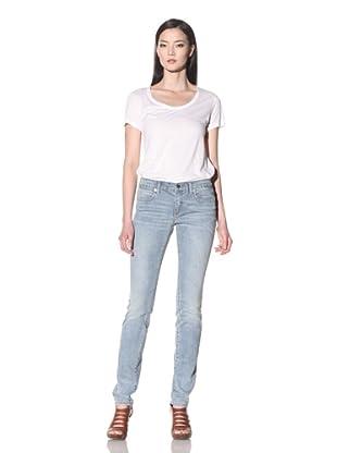 Henry & Belle Women's Ideal Skinny Jean (Worn Pale)