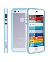 i-Blason i-BLSN-PANIP5S-LTE-16-BLUE Premium Apple New iPhone 5S/ 5 Bumper Case - Blue