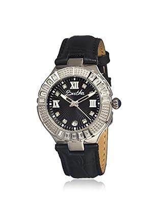 Bertha Women's BR1702 Evelyn Black Leather Watch