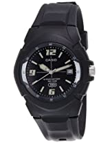 Casio Enticer Analog Black Dial Men's Watch - MW-600F-1AVDF (A505)