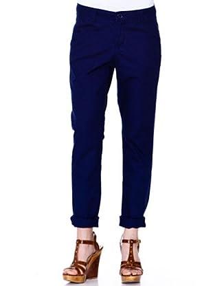 Esprit Pantalon Chino (Azul Oscuro)