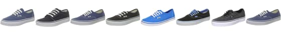 Vans Unisex Authentic Trainer black VEE3BLK 12 UK