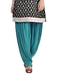 Sohniye Women's Viscose Patiala [GAKP25_Blue_Free Size]