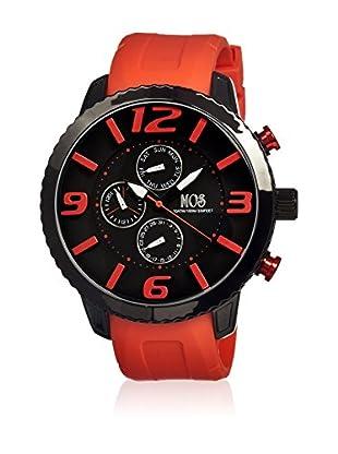 Mos Reloj con movimiento cuarzo japonés Mosml102 Naranja 50  mm