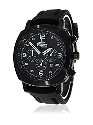 Pit Lane Uhr mit Miyota Uhrwerk Pl-1005-2 schwarz 42 mm