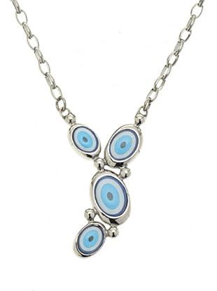 Miss Sixty SMKZ03 - Blue Eyes - Collar de mujer de acero inoxidable, 45 cm